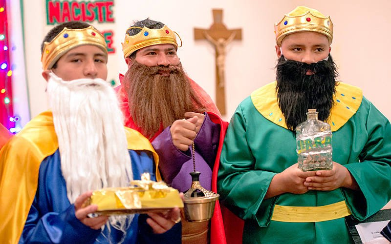 The Three Kings are seen during a 2016 celebration. (EMC file photo)