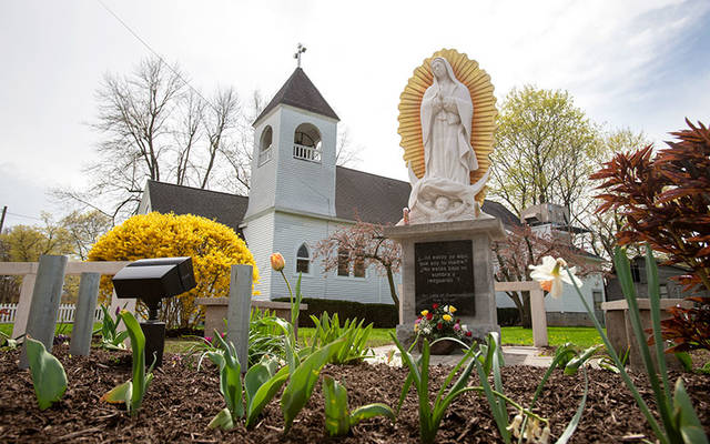 In-person Spanish-language Masses have resumed at Mission of Our Lady of Guadalupe in Marion. (File photo)