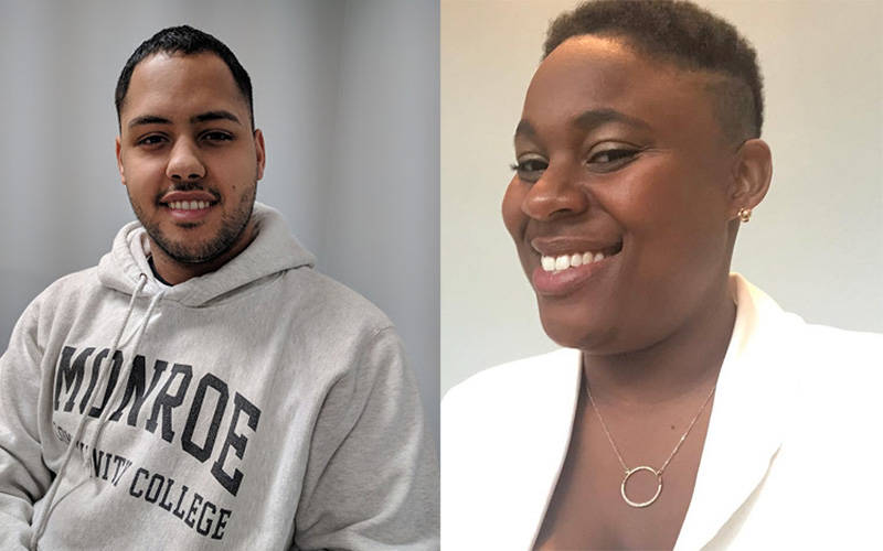 Gilberto Vargas (left) and Rosa Marie Curtis are featured speakers for the Jobs Kitchen Lunch Bites Series hosted by Venture Jobs Foundation. (Photos courtesy of Becca Delaney Johnson)