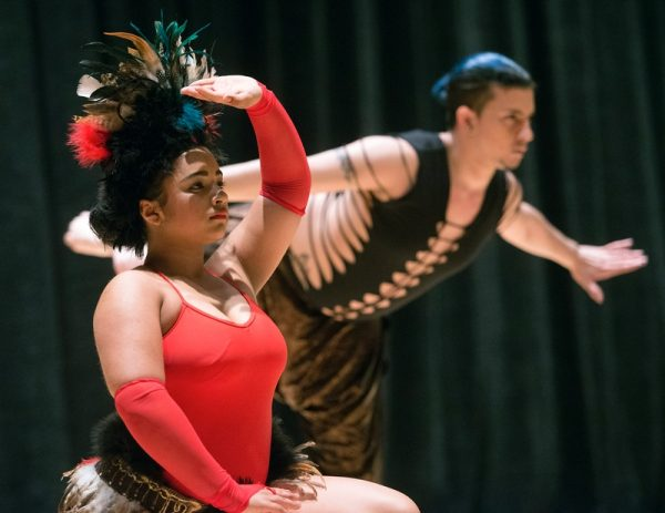 """Borinquen Dance Theatre members perform during """"Together We Dance, United We Soar"""" at Hochstein School of Music & Dance April 29."""
