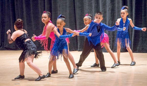 Borinquen Dance Theatre members perform Cha Cha Cha during the Together We Dance United We Soar at the Hochstein School of Music and Dance on April 29 in Rochester.