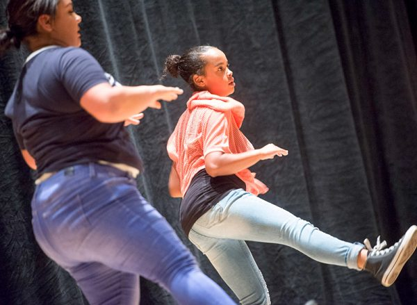 Borinquen Dance Theatre members perform Jah People On The Move during the Together We Dance United We Soar at the Hochstein School of Music and Dance on April 29in Rochester.