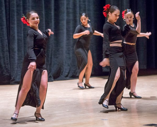 Borinquen Dance Theatre members perform during the Together We Dance United We Soar at the Hochstein School of Music and Dance on April 29 in Rochester.