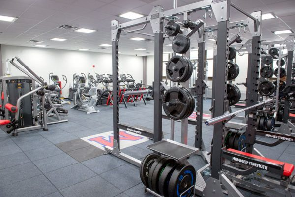 A new weight room.