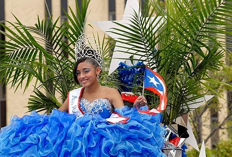 Miss Puerto Rico of Rochester Queen Gabriela Hernandez.