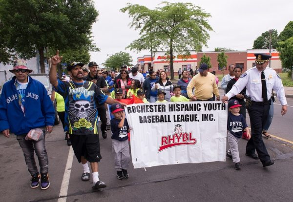 The Rochester Hispanic Youth Baseball League kicked off its 2018 season June 2 with an opening day parade down Clinton Avenue in Rochester.